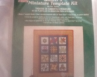 Quilter's Miniature Template kit - By Pat Yamin - The Quiltery