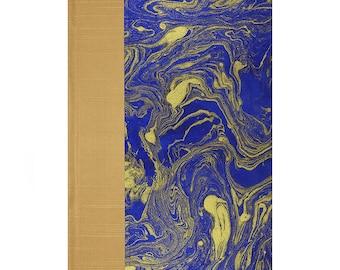 Journal Lined Paper  Cobalt Blue