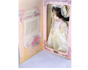 Ideal Doll - Vintage Victorian Ladies Doll - 1984 - MIB - Collector's Doll Series