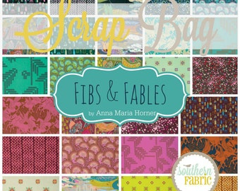 Fibs and Fables - Scrap Bag Quilt Fabric Strips by Anna Maria Horner for Free Spirit Fabrics