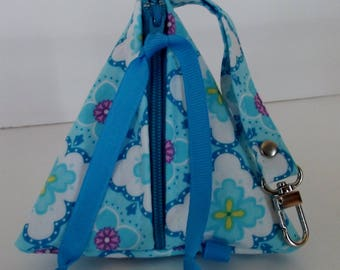 Dollbirdies Original Pacifier Pouch, Pacifier Case, Paci Pod, Triangle Pouch, Pyramid Pouch, Knitting Notions, Coin Purse, Jewerly Pouch