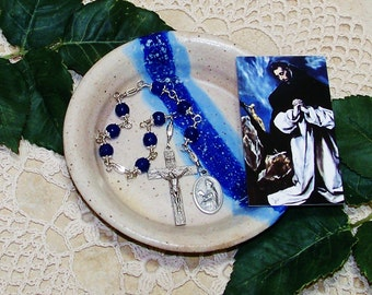 Unbreakable Catholic Chaplet of St. Dominic de Guzman - Patron Saint of Scientists, Astronomers and Falsely Accused People