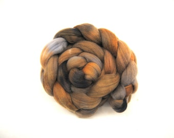 SANDY Hand-Dyed Polwarth Combed Top/Roving-4 ounces