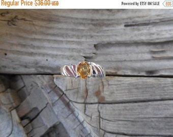 ON SALE Cirtine ring handmade in sterling silver 925