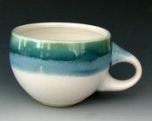STONEWARE COFFEE CUP #20 - Ceramic Cup - Ceramic Coffee Cup - Ceramic Tea Cup - Cappuccino Cup - Latte Cup - Clay Cup - Studio Pottery