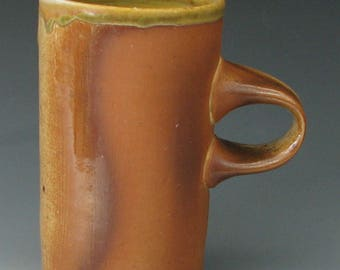 WOOD FIRED MUG #28 - Stoneware Mug - Pottery Mug - Large Mug - Coffee Mug - Large Coffee Mug - Tea Mug - Wood Fired Pottery