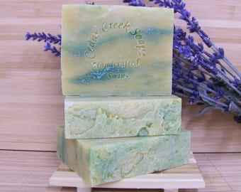 By the Bay Cold Processed Soap All Natural Vegan Bay Rum Soap