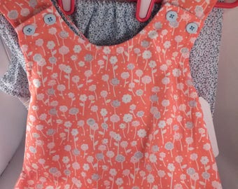 SALE Little Girls Romper Set Sunsuit Ready to ship