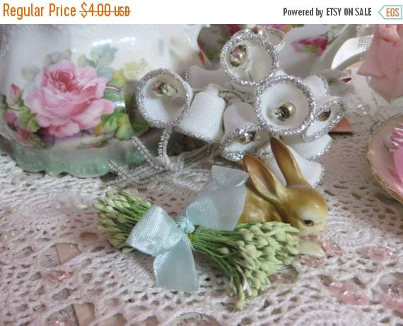ON SALE Vintage Millinery Hat Supplies-Stamens-Pips-Sugar Craft-Cakes-Wedding-Corsages-OLD Stock-Double Ends