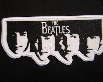 Embroidered Beatles Iron On Patch, Rock And Roll Patch, Iron On Patch, Beatles, British Invasion, The Beatles