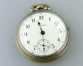 1883 Model Waltham 15 Jewel Pocket Watch - Running