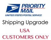 Upgrade to USPS PRIORITY Mail / US Customers Only/Add to Your Jewlry Order