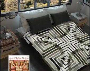 Quilt Pattern Antelope Canyon by Laurie Shifrin Designs No Y Seam
