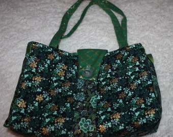 Hand made Fashion Quilted Purse Hand bag
