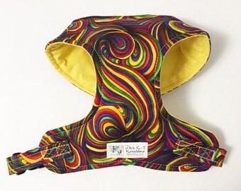 Kaleidoscope Comfort Soft Dog Harness - Made to Order -