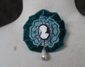 Cute  cameo buckles  pin 1 pieces listing