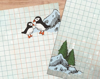 Puffin Lovin' - A5 Stationery - 12, 24 or 48 sheets