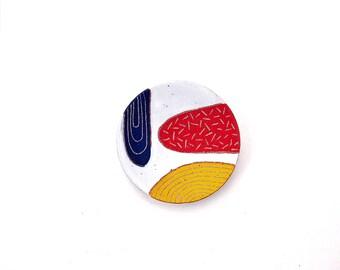 Ceramic Swatches Ring Dish, Primary