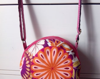 Round Bag Floral Chic