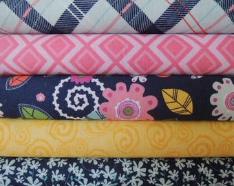 Enchanted Kit 2,  Rag Quilt Kit, Easy to Make, Personalized, Bin d, Sewing Available