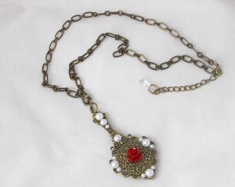 Enchanted Mirror Necklace (Beauty and the Beast)
