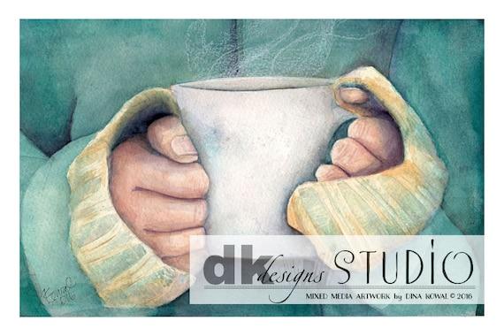 "Coffee prints - set of 3 (4"" x 6"")"