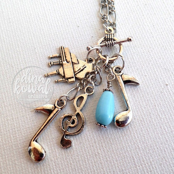 Charm Necklace - Piano Music