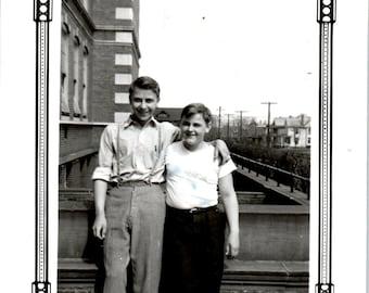 Vintage Photo - Two Boys - Vernacular, Found Photos (A)