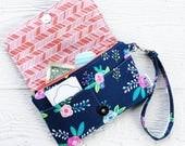 wherever wallet wristlet - custom fabric - preorder
