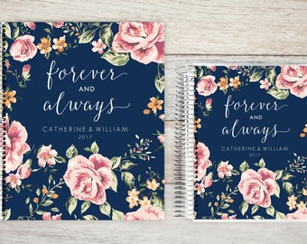 Monthly Planner | 24 Month Planner | Personalized Monthly Planner | 2 Year Planner | Monthly Planner Organizer | forever and always