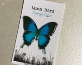 Butterfly Effect Brooch, Ulysses Light Blue (LBB16) by Luna Bird for the 1200 Butterfly Wall at Butterfly Effect Exhibition