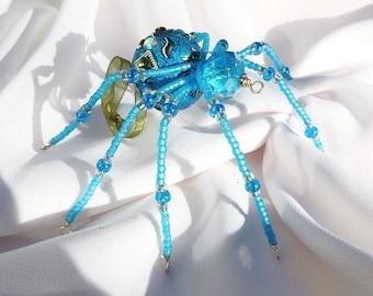 Christmas Spider Ornament Folk Art Legend of Tinsel and Garland