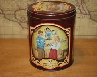 Vintage 1989 Nestle Toll House Morsels Tin - item #2393