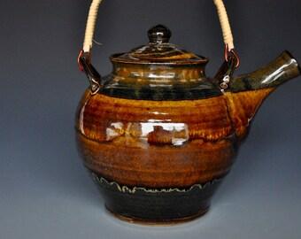 50% Off Decorative Large Pottery Teapot Ceramic Teapot Stoneware Teapot A