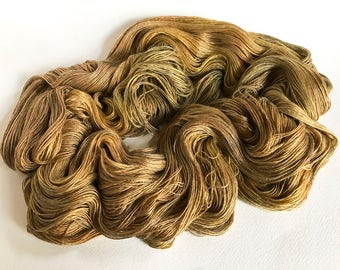 Genus Coffea.  Evangeline Silk Bamboo Lace Yarn.