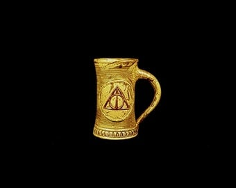 Stoneware Deathly Hallows Mug