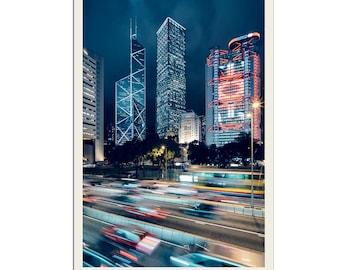 Hong Kong Blues - Photographic Print by Doug Armand on Etsy