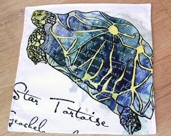 Star Tortoise cushion cover
