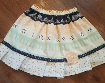 Twirl skirt - 5t aztec