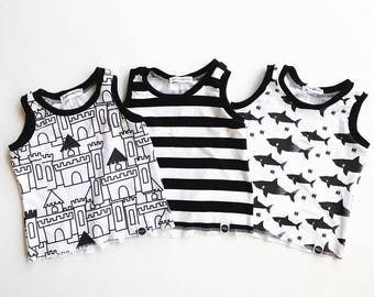 tank top / toddler / hipster baby clothes / jersey knit