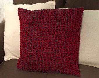 Hand Woven Waffle Weave Cushion