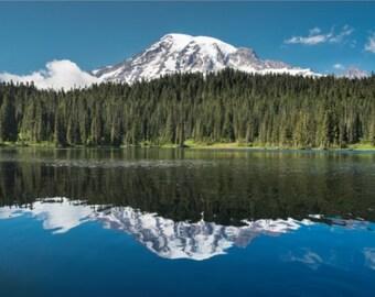 Scenic Art, Mt. Rainier, Fine Art Photography, Scenic, Landscape,  fPOE, (6 sizes)