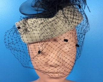 Vintage Michael Howard Hat with Black Lacing