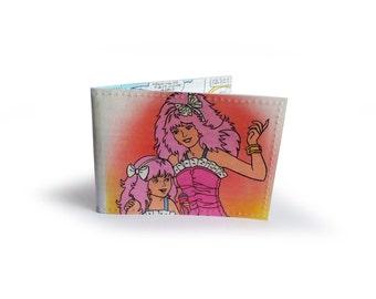 Jem & The Holograms Oyster Card Holder - Vintage Comic encased in Vinyl