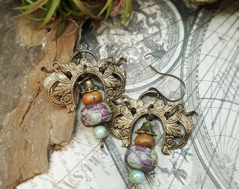 Gemma - Art Earrings