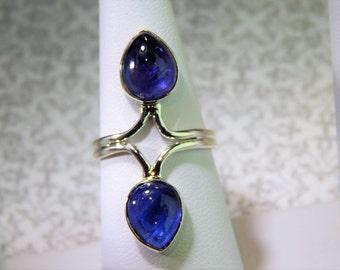 Fabulous Size 7 Double Kyanite Ring!!!