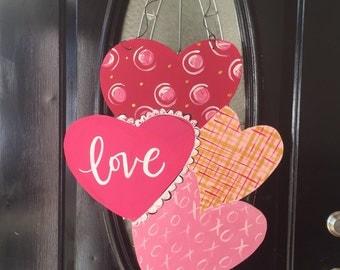 Valentine's Day Door Sign