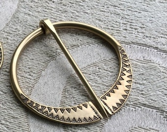 Viking , Outlander , Scottish Shawl Pin , Clasp