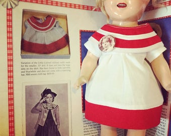 13in Shirley Temple Little Colonel Replica dress
