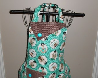 Coffee Diva Women's Apron